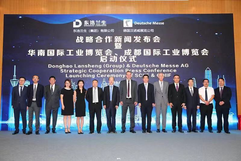 Deutsche Messe AG Alliance with Donghao Lansheng Group to Launch New Industrial Fairs in Shenzhen and Chengdu from 2020